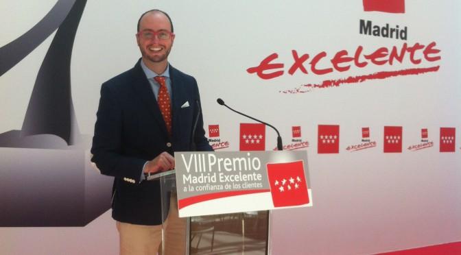 Servicios de Limpieza de calidad sello Madrid Excelente